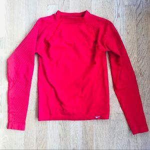 🍁 Boys Nike Dry Fit Compression Long Sleeve Shirt